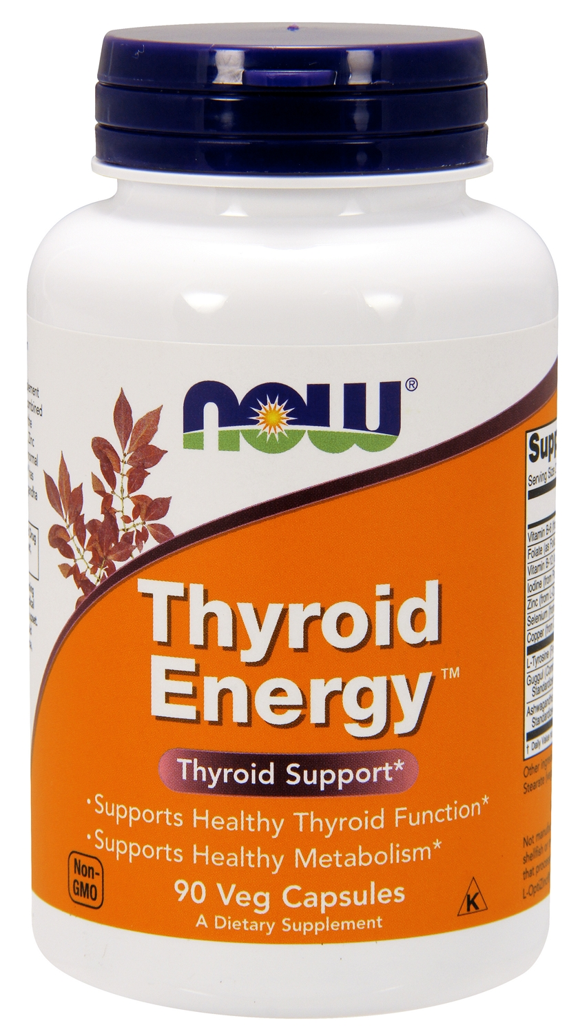 Thyroid Energy 90 Veg Caps by NOW