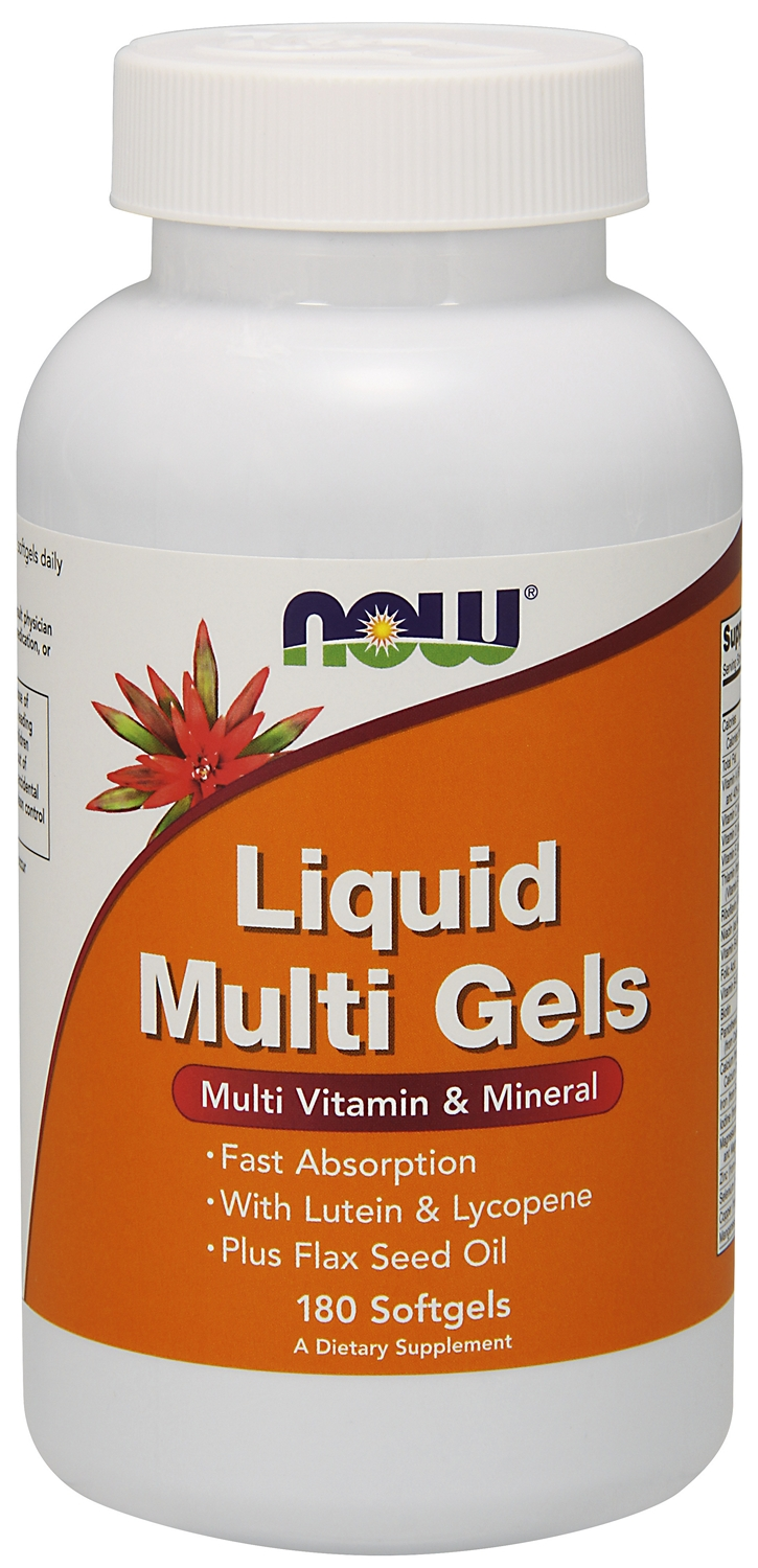 Liquid Multi Gels 180 sgels by NOW