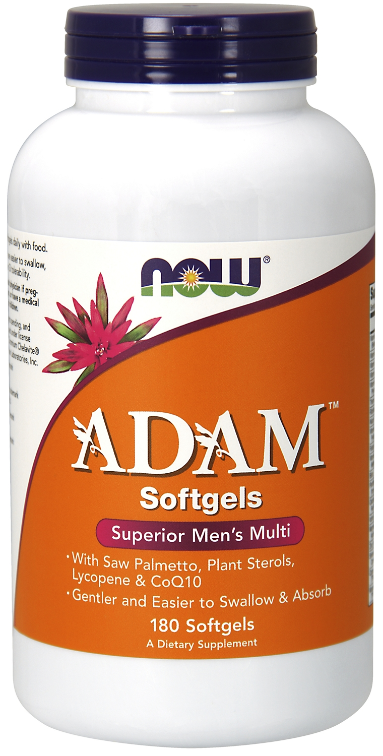 Adam Superior Men's Multiple 180 sgels by NOW