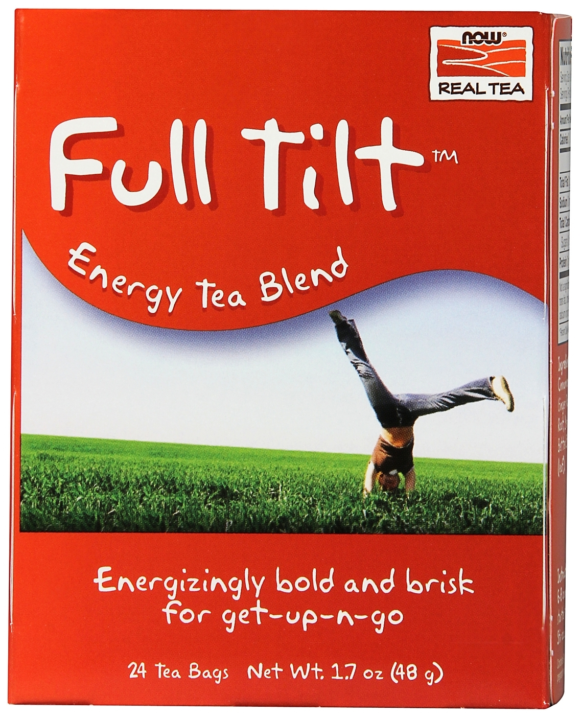 Full Tilt Tea 24 Tea Bags by NOW Foods