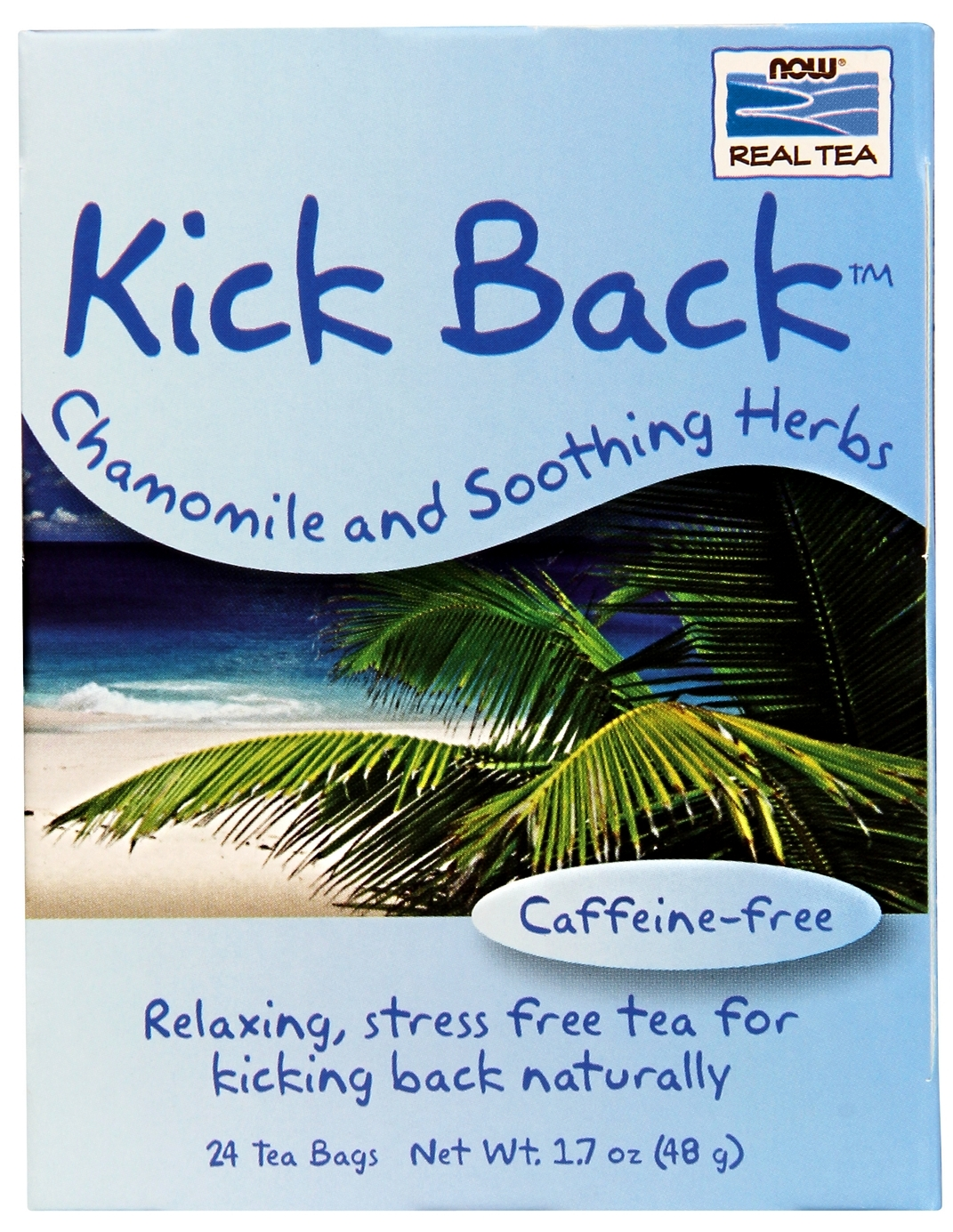 Kick Back Tea 24 Tea Bags by NOW