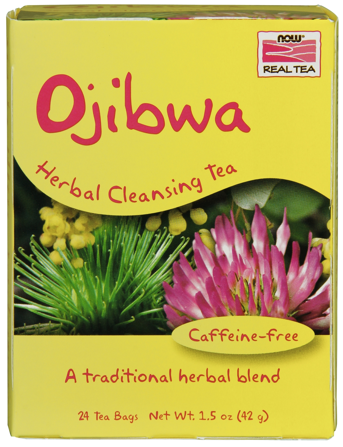 Ojibwa Herbal Cleansing Tea 24 Tea Bags by NOW