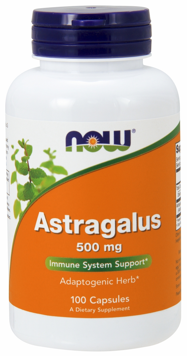 Astragalus 500 mg 100 caps by NOW