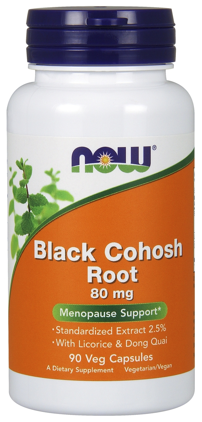 Black Cohosh Root 80 mg 90 caps by NOW