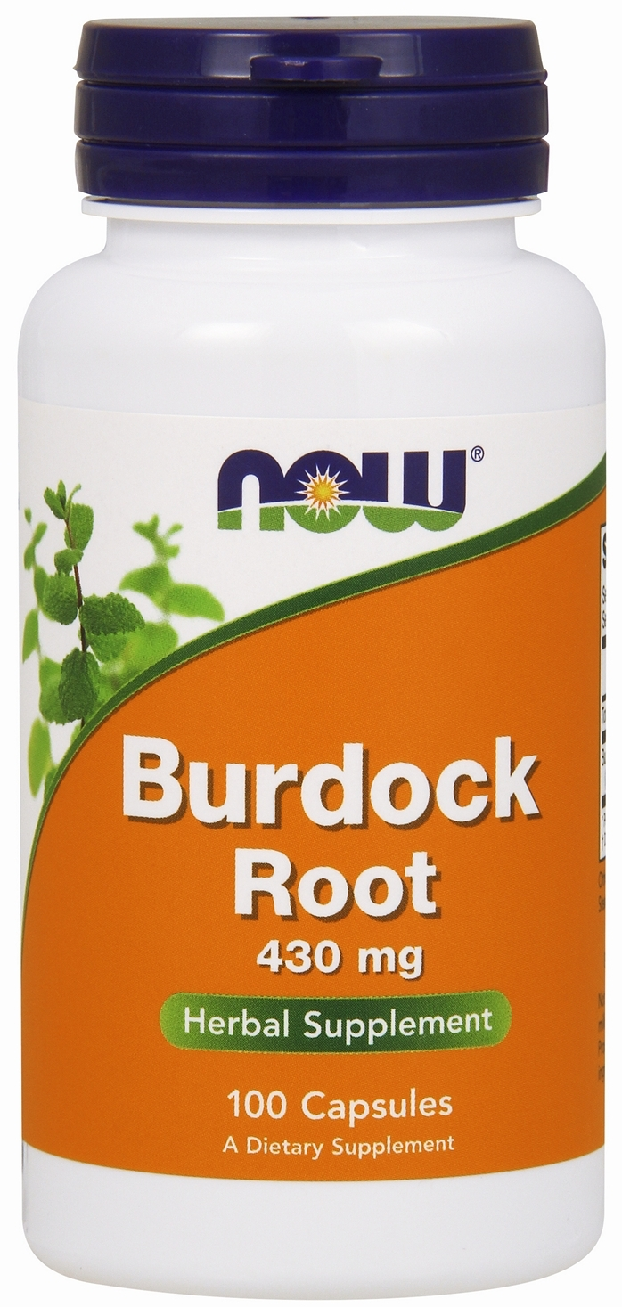Burdock Root 430 mg 100 caps by NOW