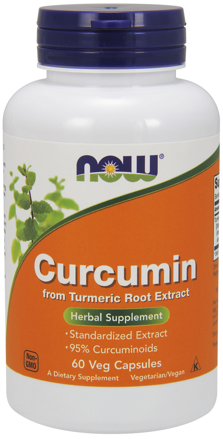 Curcumin 60 Vcaps by NOW