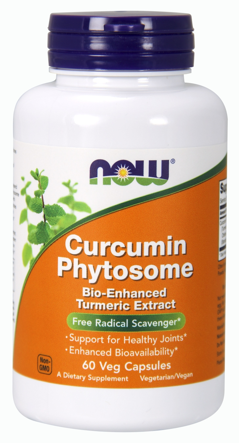 Bio-Curcumin Phytosome 60 Vcaps by NOW