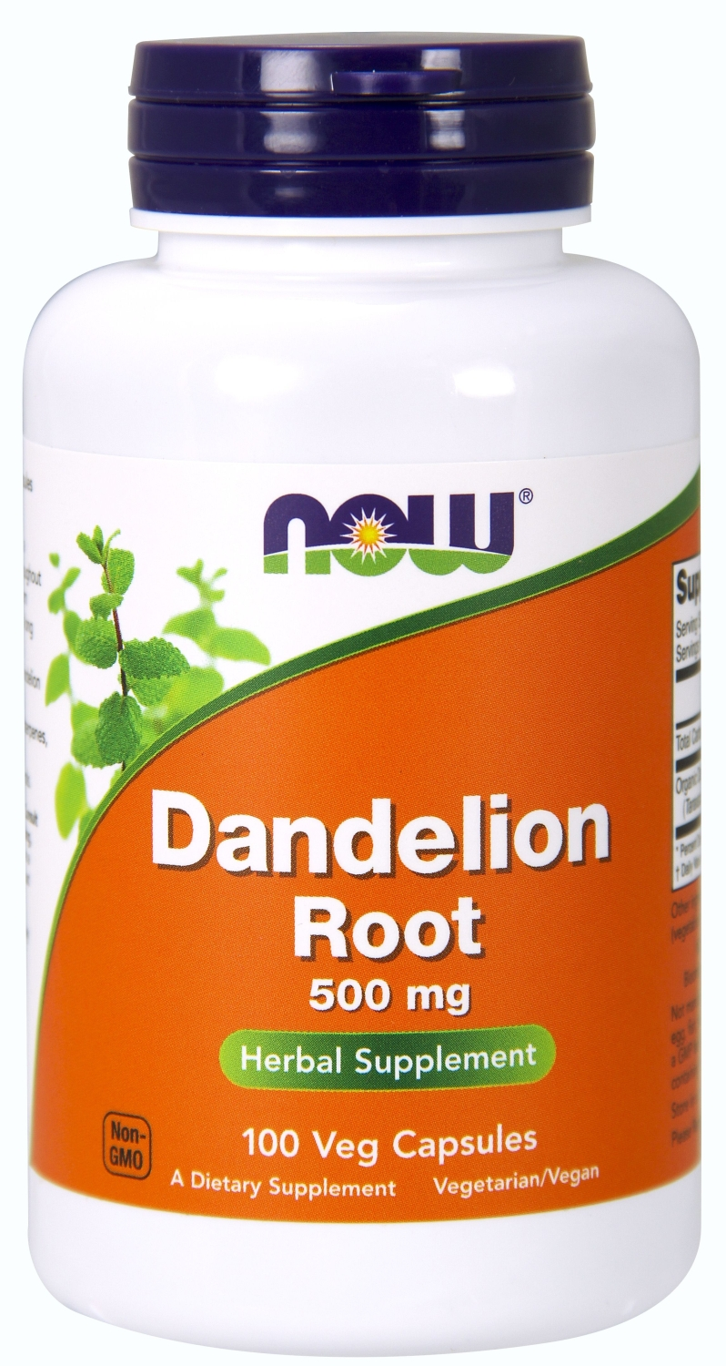 Dandelion Root 500 mg 100 caps by NOW