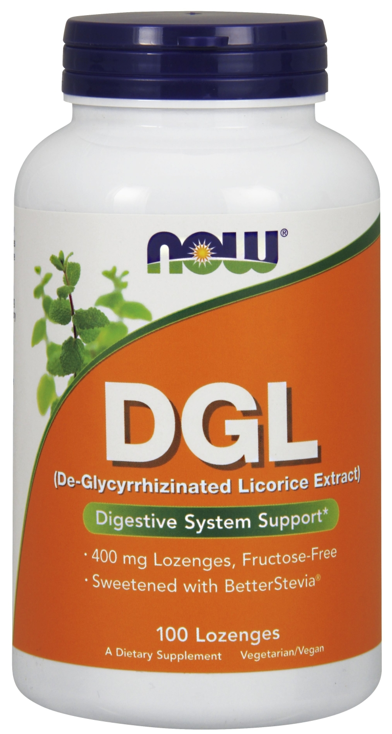 DGL 400 mg 100 Lozenges by NOW