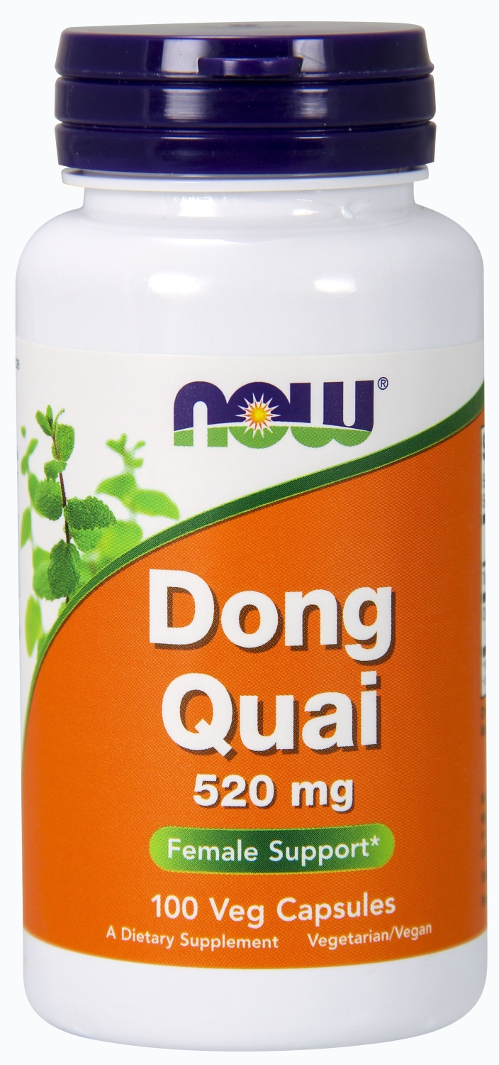 Dong Quai 520 mg 100 caps by NOW