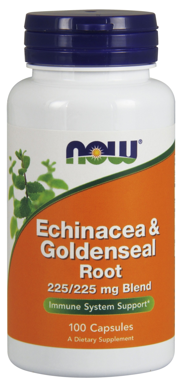 Echinacea & Goldenseal Root 100 caps by NOW