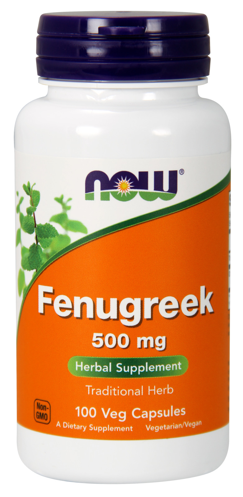 Fenugreek 500 mg 100 caps by NOW