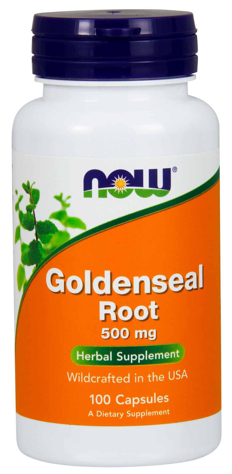 Goldenseal Root 500 mg 100 caps by NOW