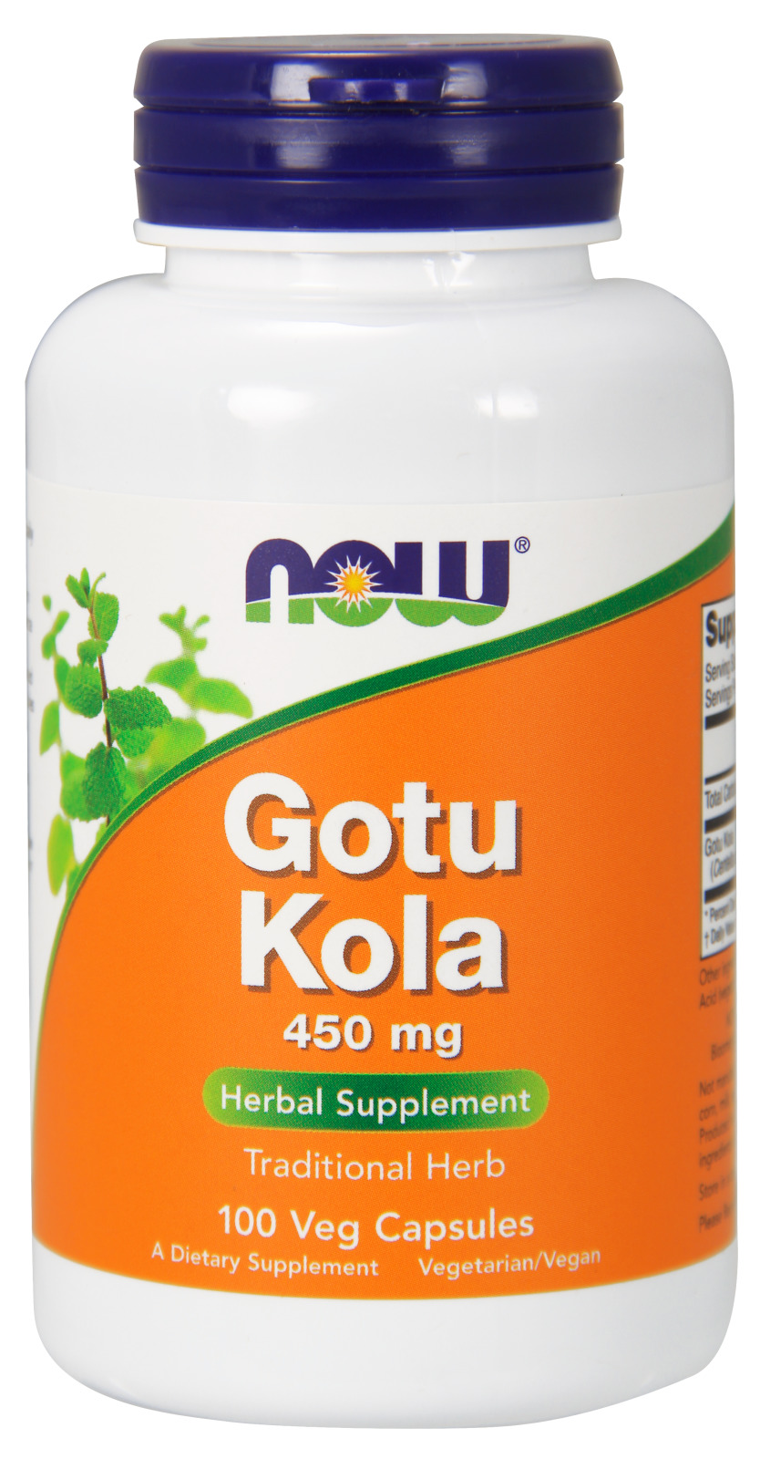 Gotu Kola 450 mg 100 caps by NOW