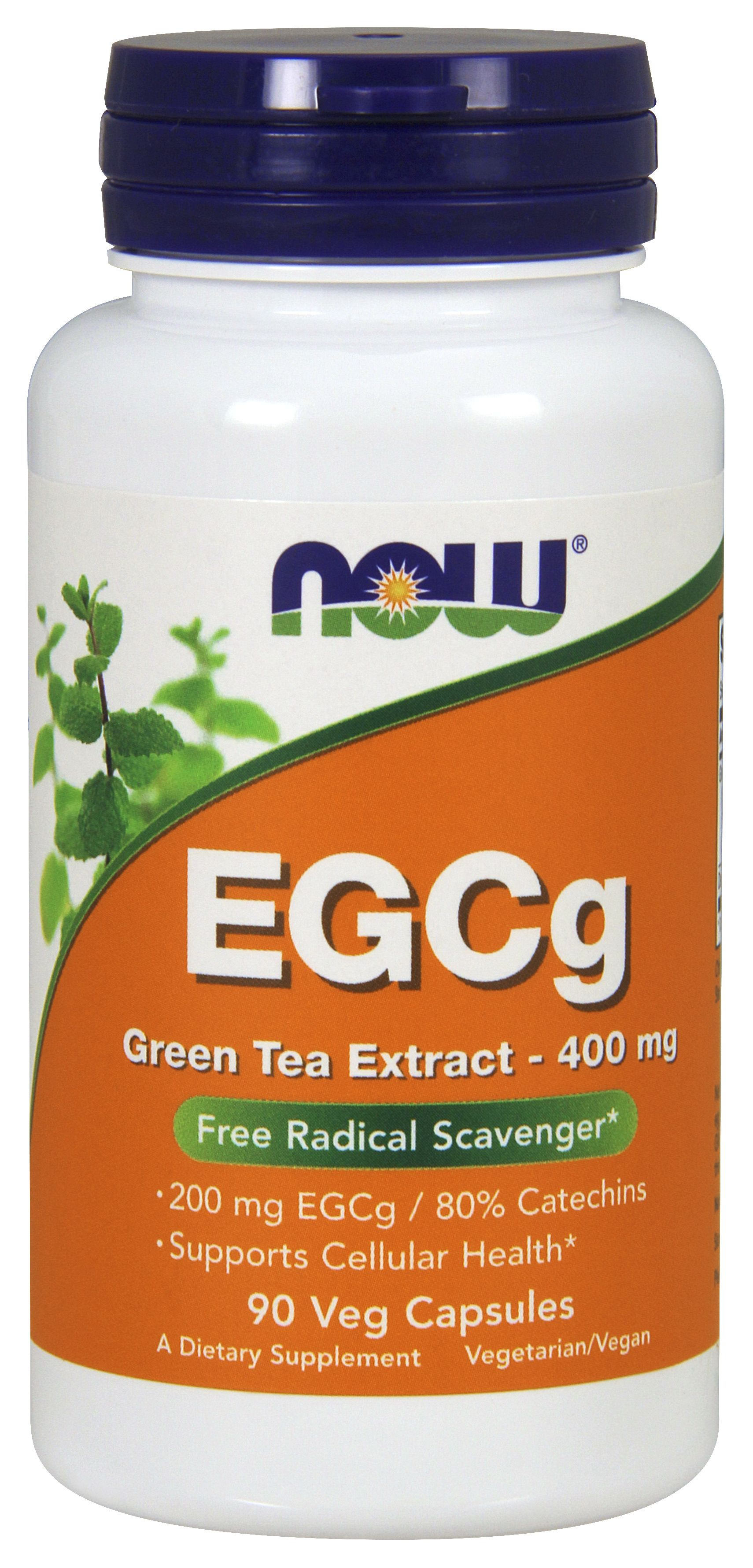 EGCg Green Tea Extract 400 mg 90 Vcaps by NOW