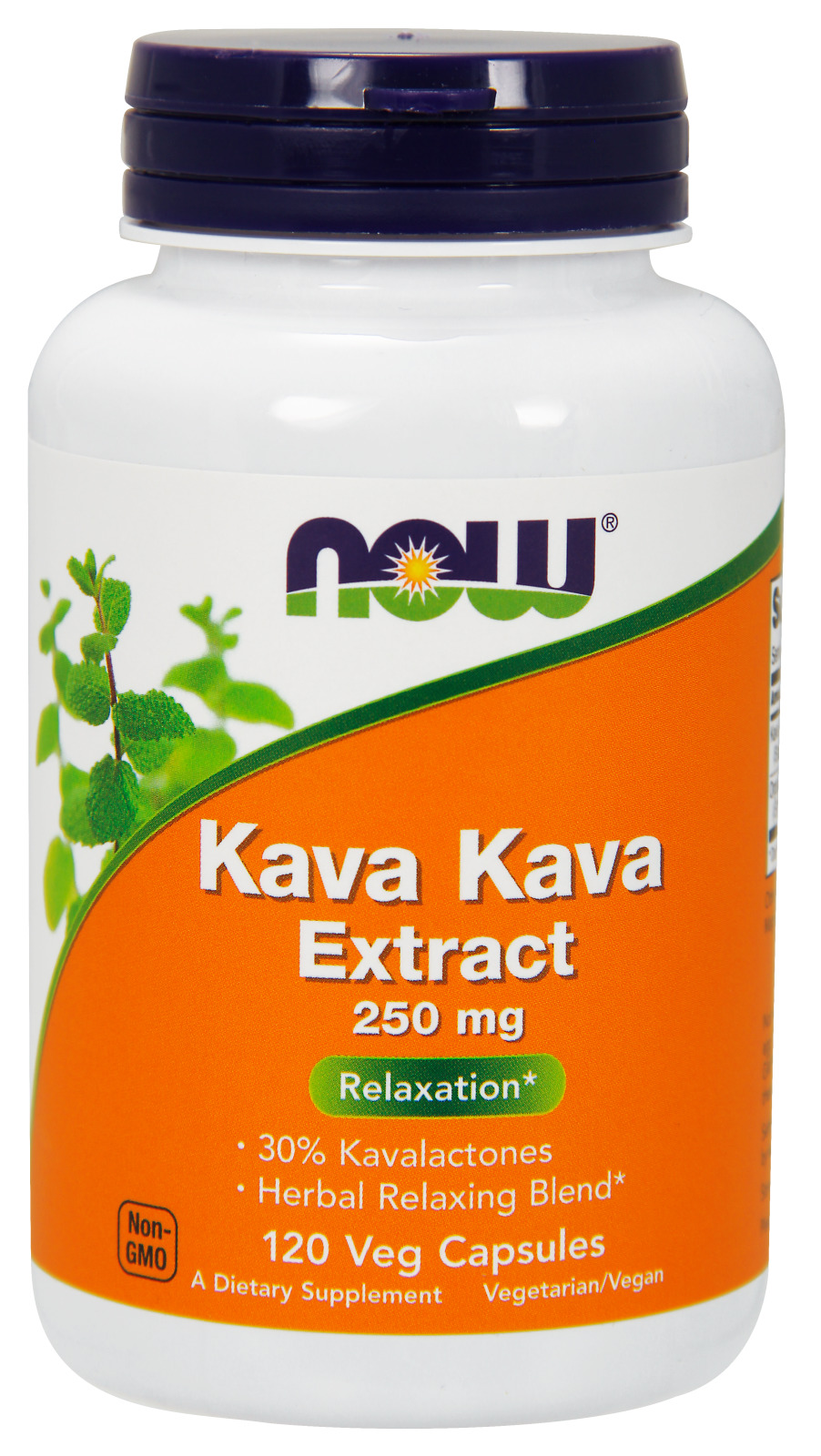Kava Kava 250 mg 120 caps by NOW