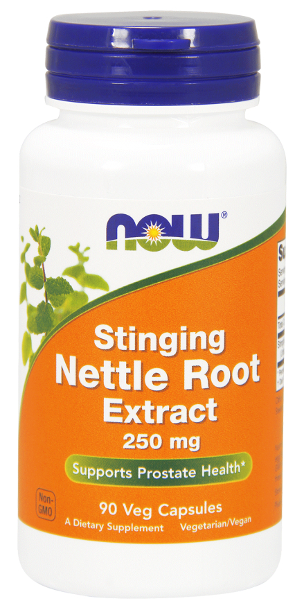 Stinging Nettle Root Extract 250 mg 90 Vcaps by NOW