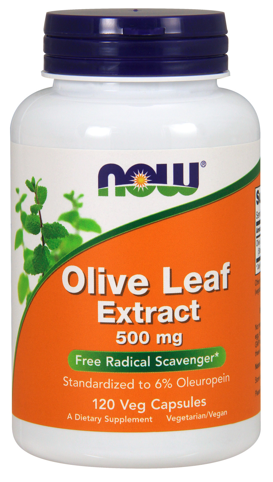 Olive Leaf Extract 500 mg 120 Vcaps by NOW
