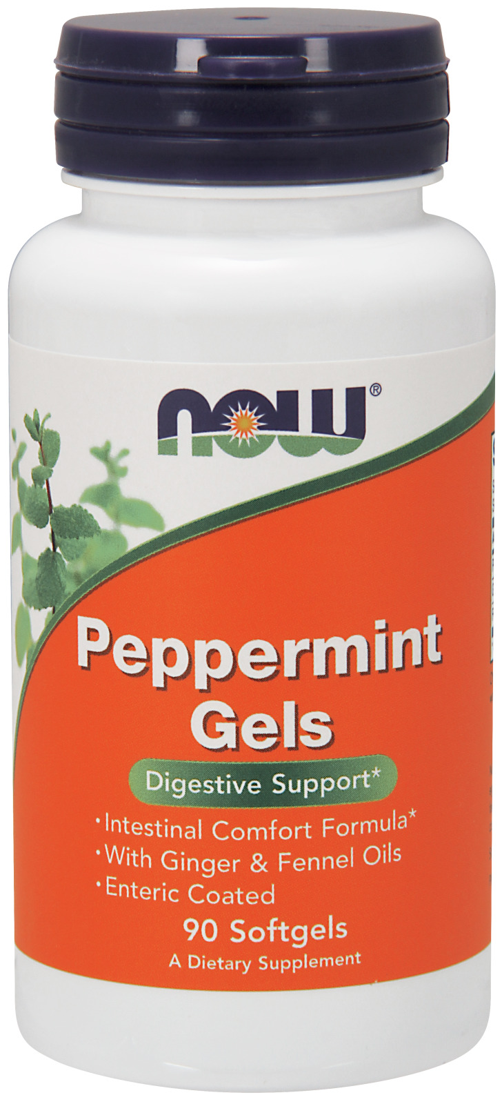 Peppermint Gels 90 sgels by NOW