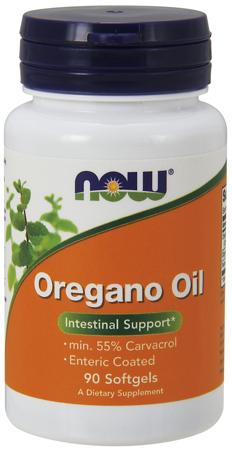 Oregano Oil 90 sgels by NOW