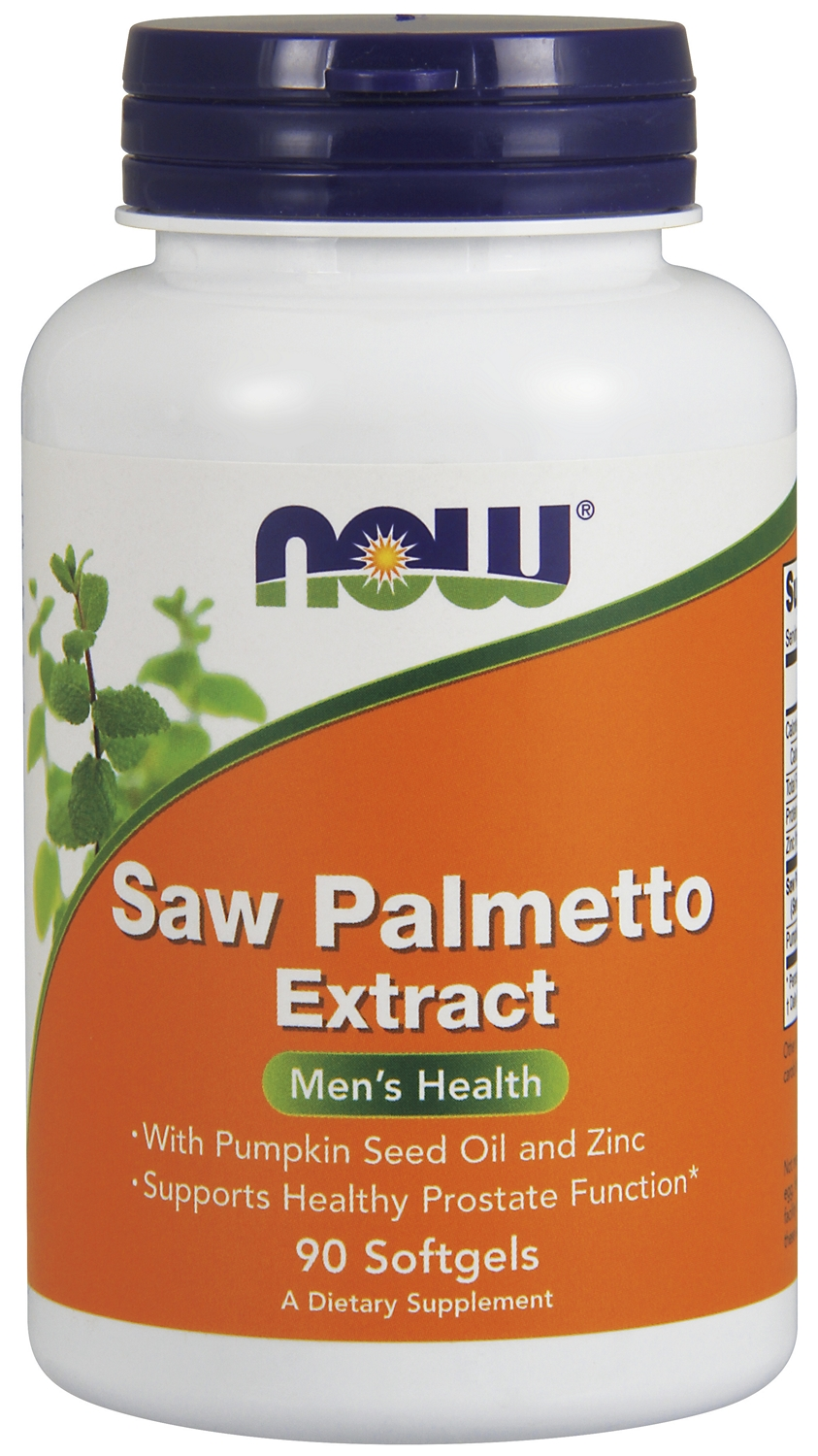 Saw Palmetto with Pumpkin Seed Oil & Zinc 90 sgels by NOW