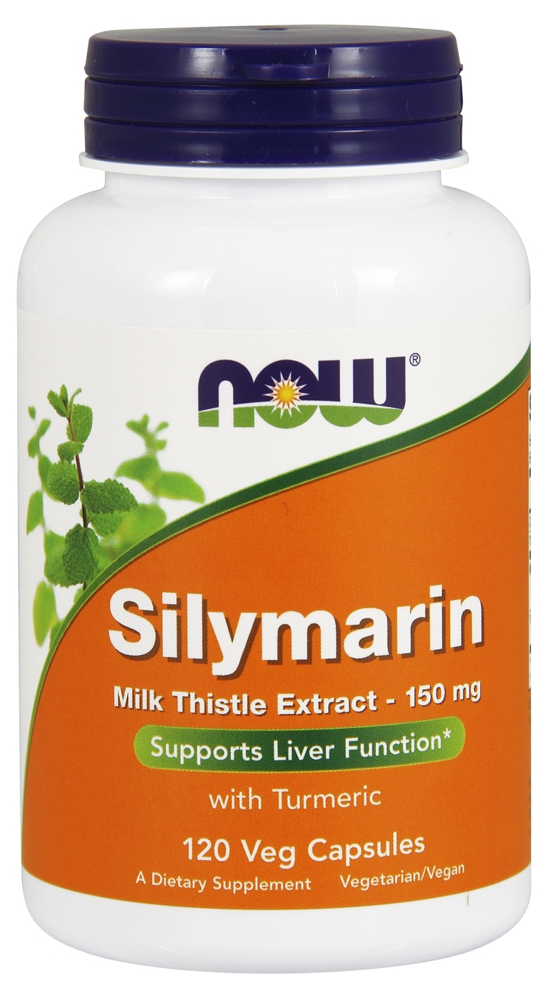 Silymarin Milk Thistle Extract 150 mg 120 Vcaps by NOW