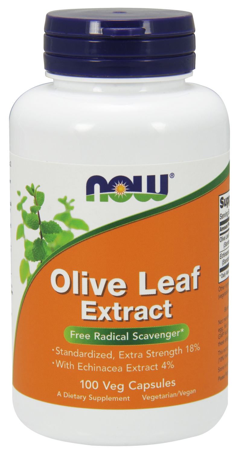 Olive Leaf Extract 100 Vcaps by NOW