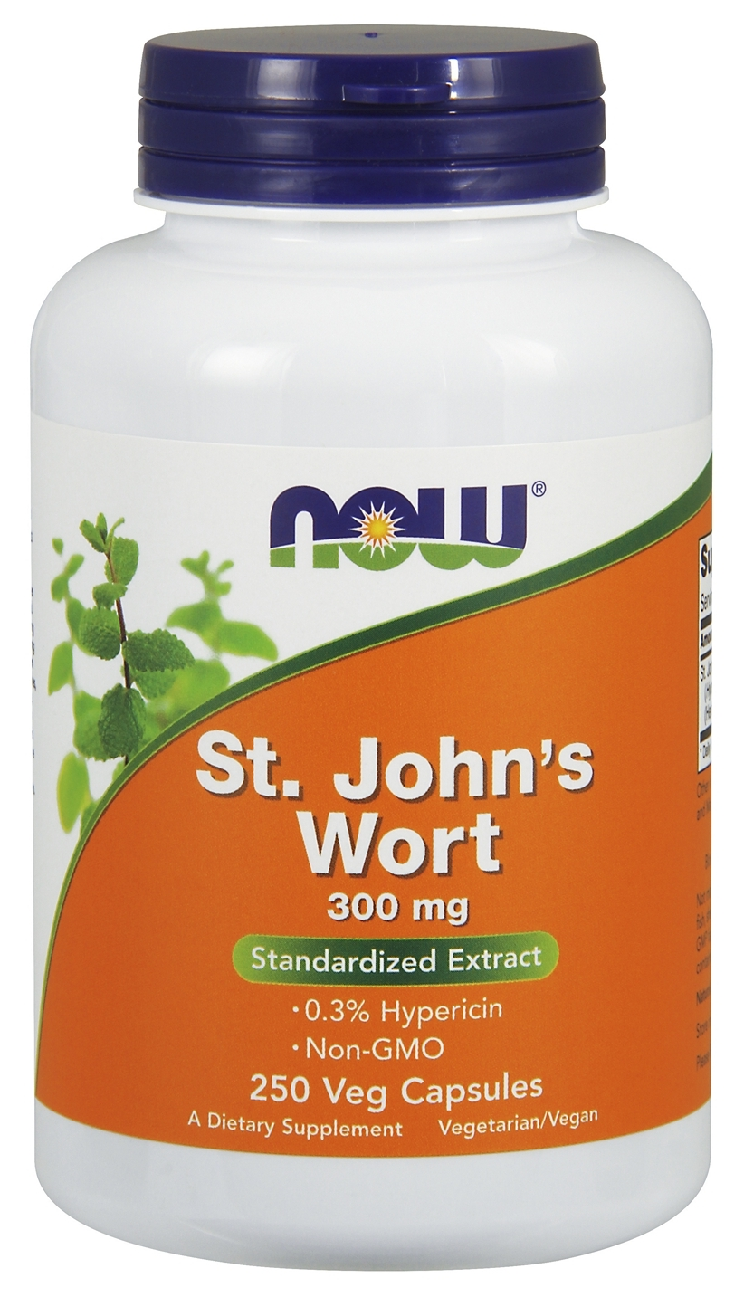 St. John's Wort 300 mg 250 caps by NOW