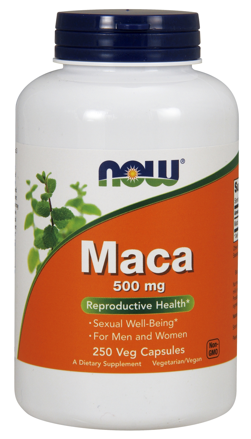 Maca 500 mg 250 caps by NOW