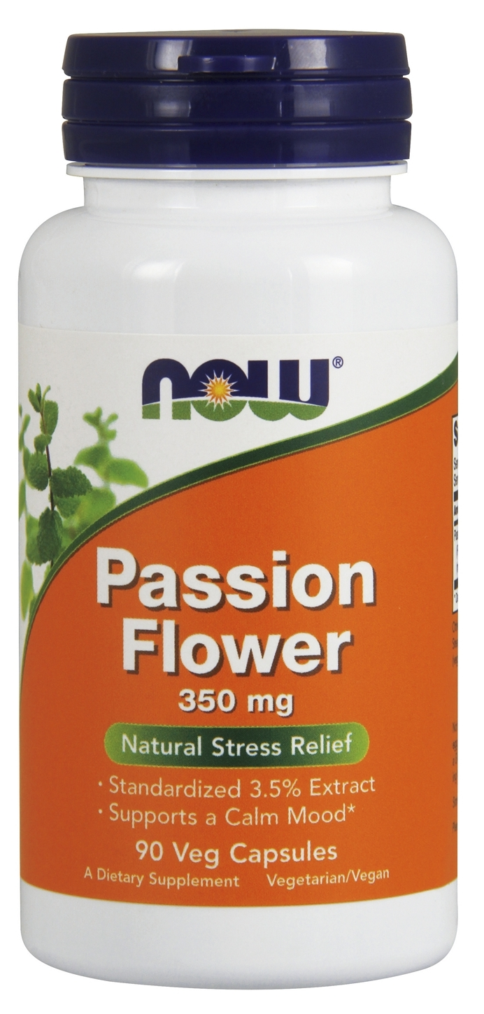 Passion Flower Extract 350 mg 90 Vcaps by NOW