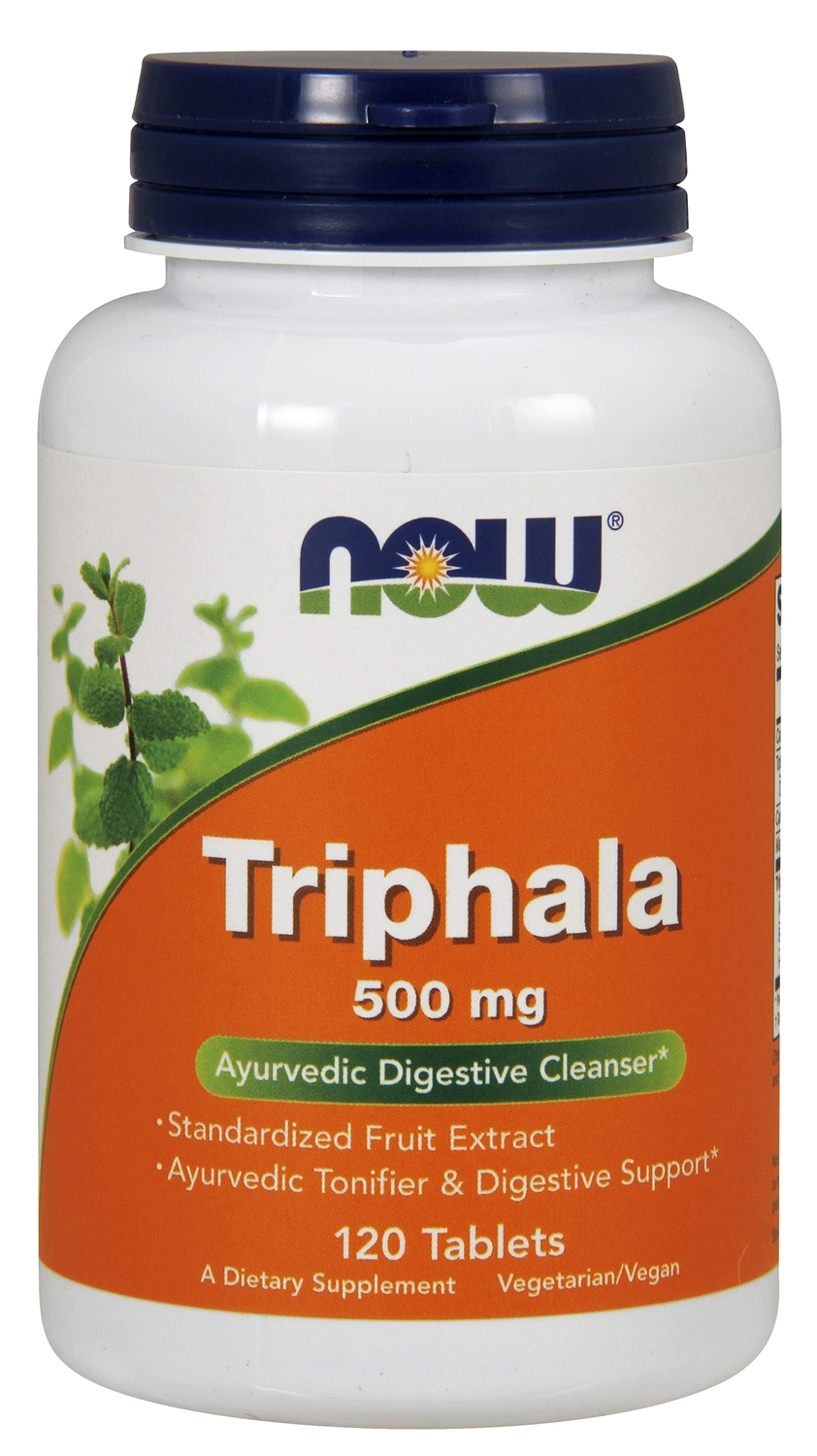 Triphala 500 mg 120 tabs by NOW