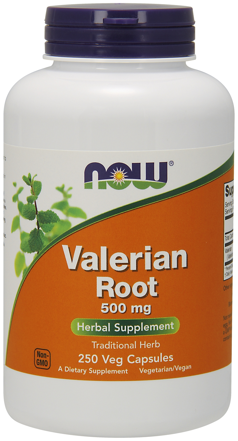 Valerian Root 500 mg 250 caps by NOW