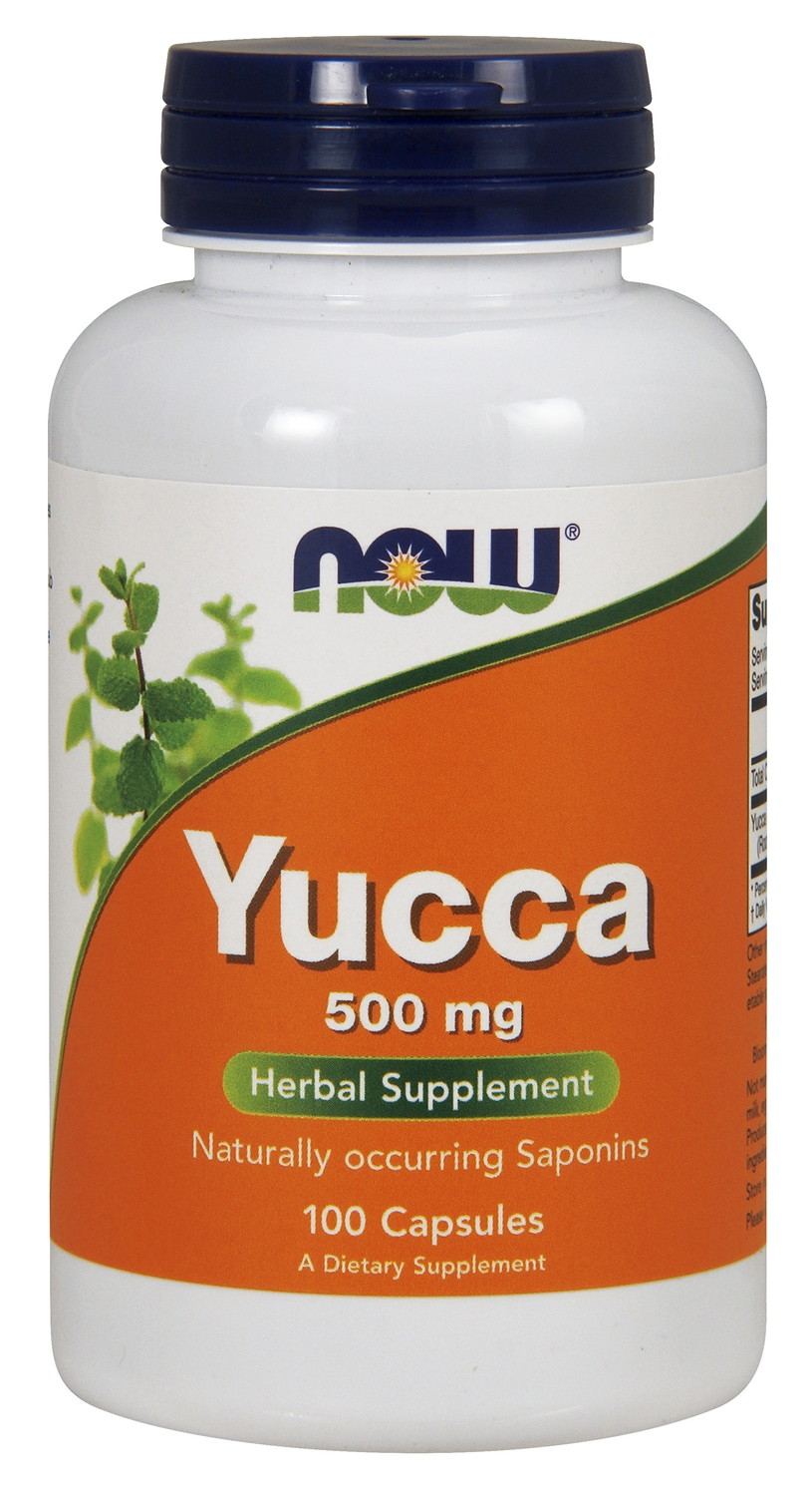 Yucca 500 mg 100 caps by NOW