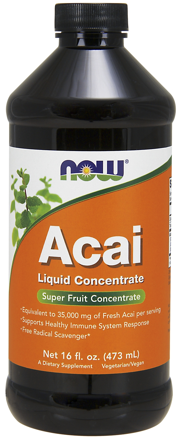 Acai Liquid Concentrate 16 fl oz (473 ml) by NOW