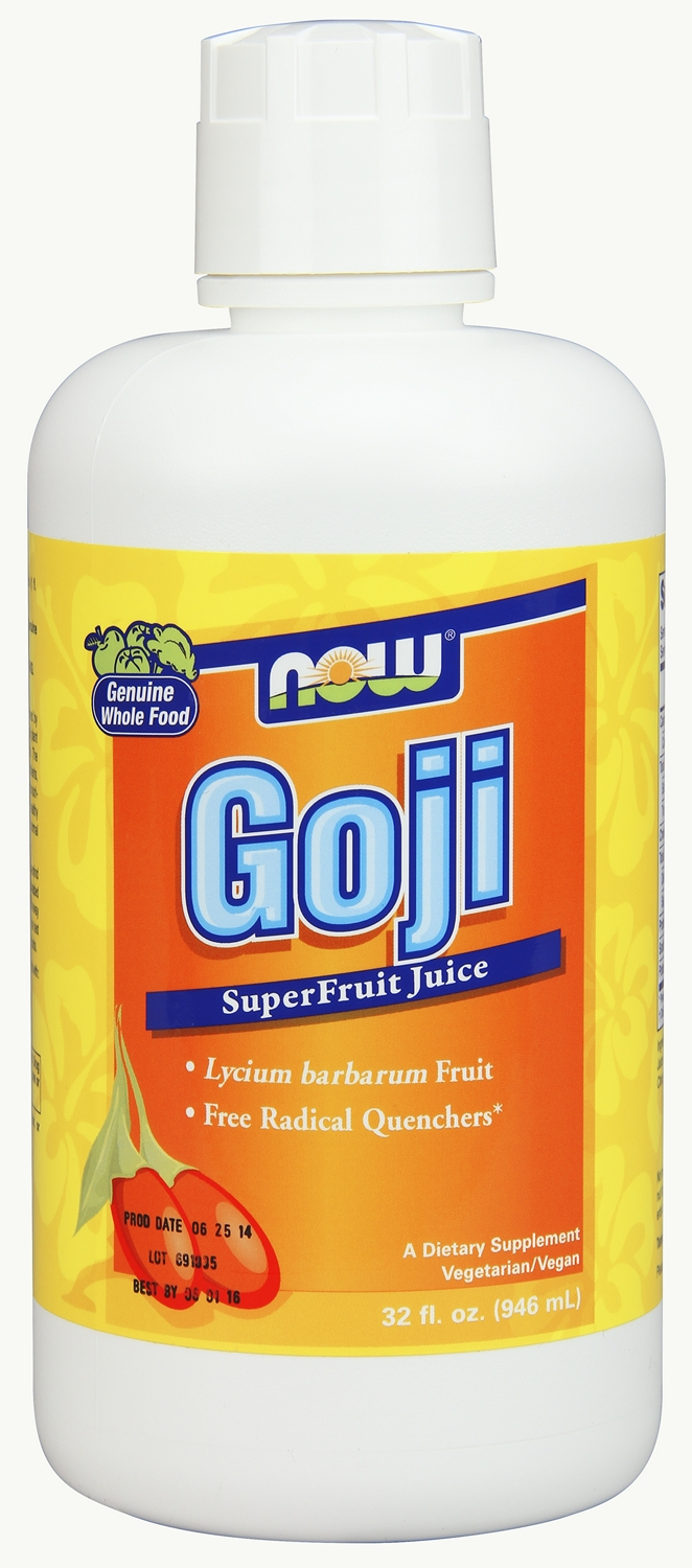 Goji SuperFruit Antioxidant Juice 32 fl oz (946 ml) by NOW