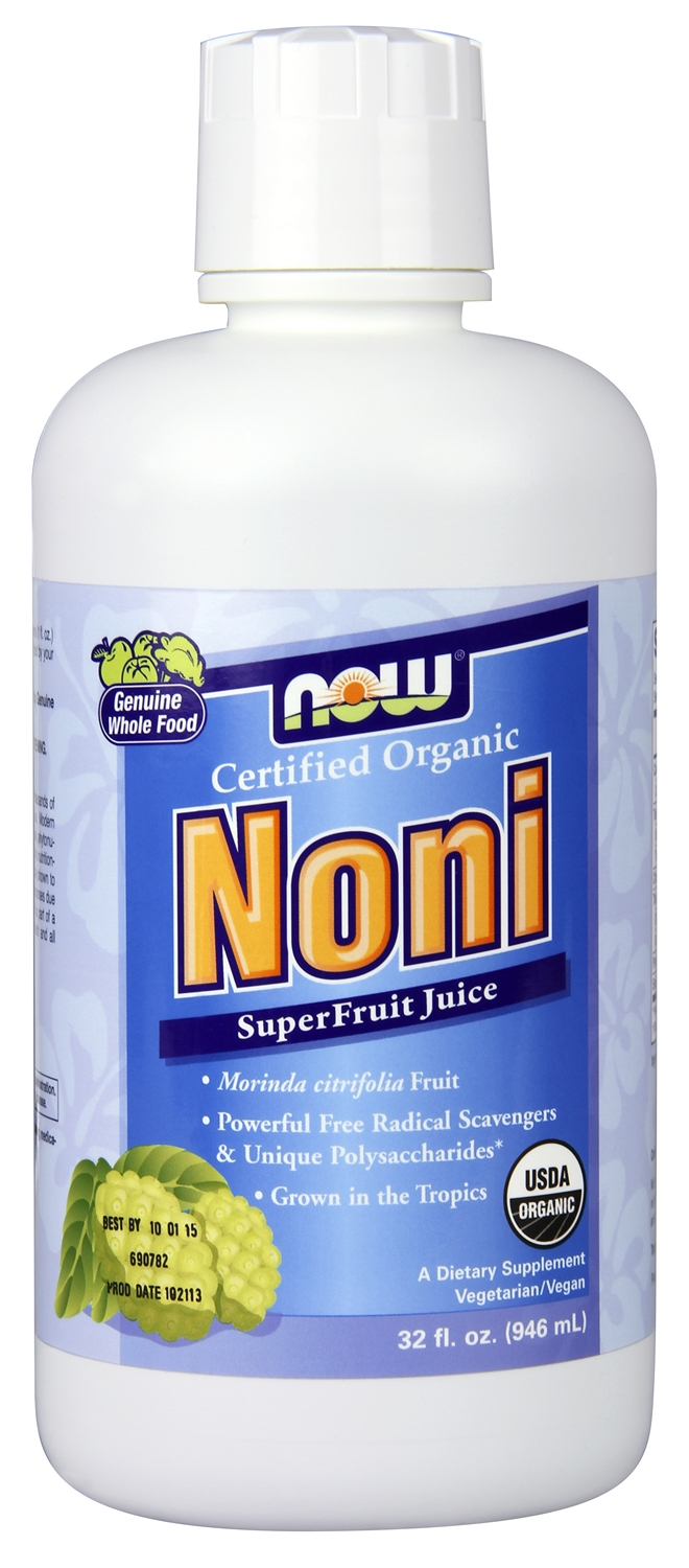 Noni SuperFruit Antioxidant Juice 32 fl oz (946 ml) by NOW