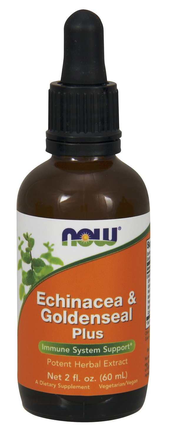Echinacea & Goldenseal Plus 2 fl oz (60 ml) by NOW