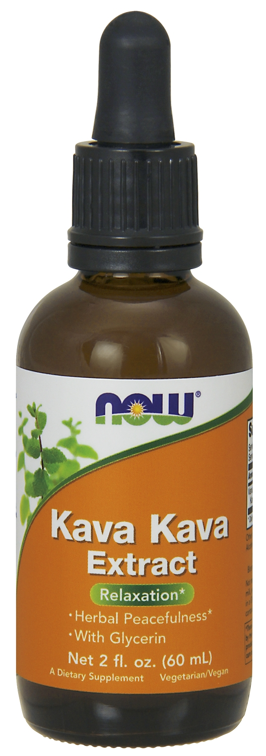 Kava Kava Extract 2 fl oz (60 ml) by NOW
