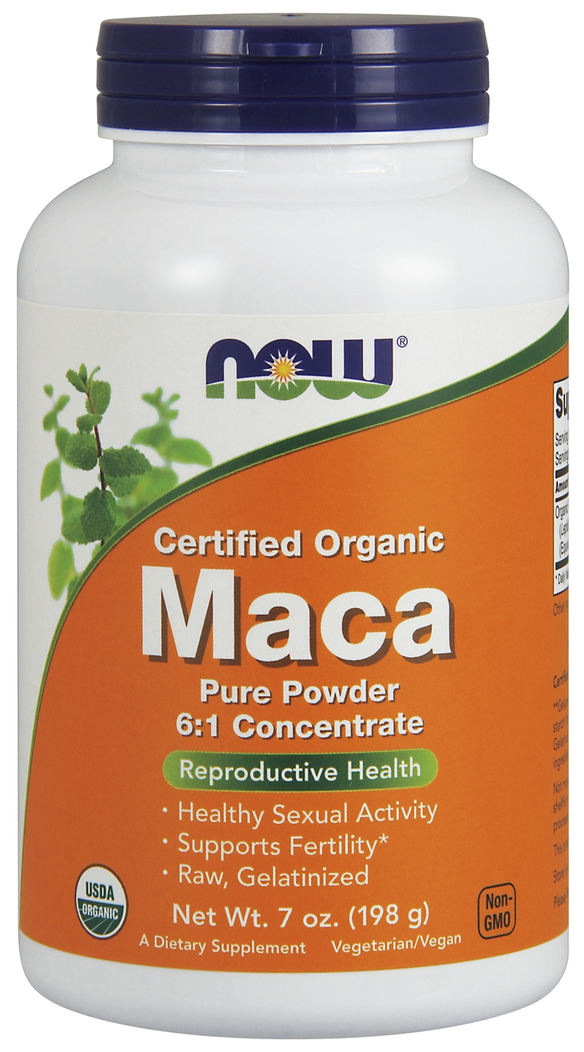 Maca Pure Powder 7 oz (198 g) by NOW