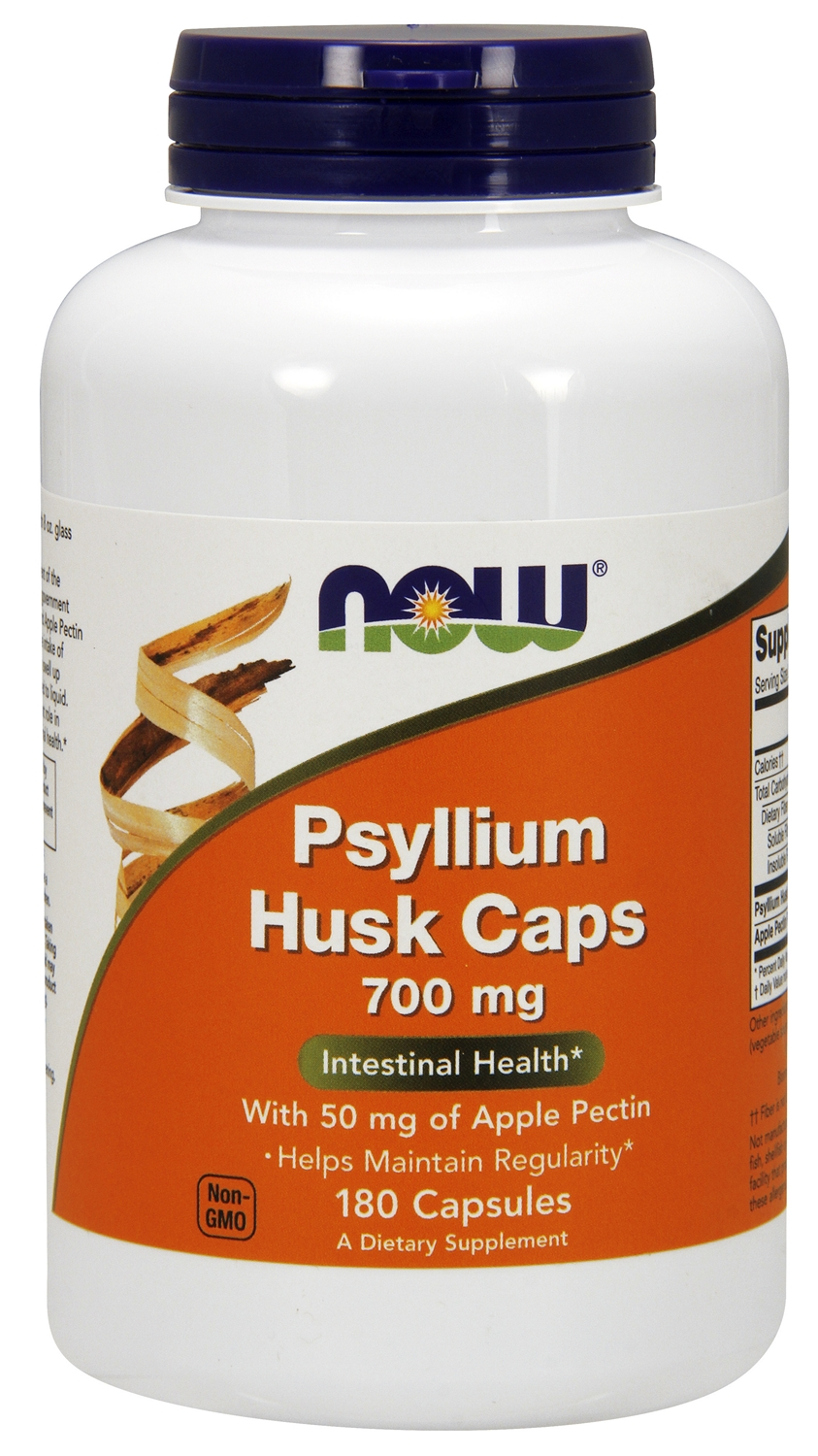 Psyllium Husk Caps 700 mg 180 caps by NOW