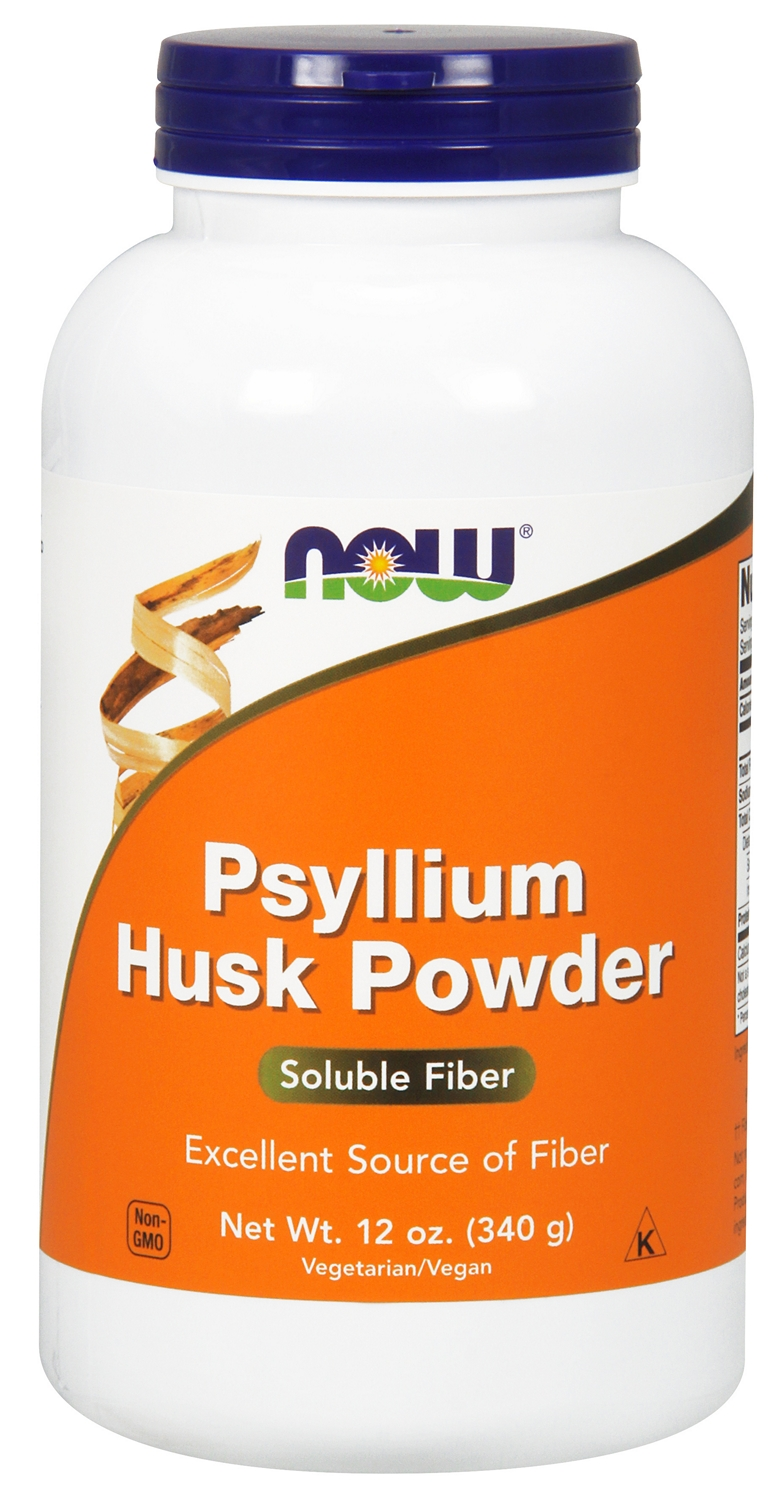 Psyllium Husk Powder 12 oz (340 g) by NOW