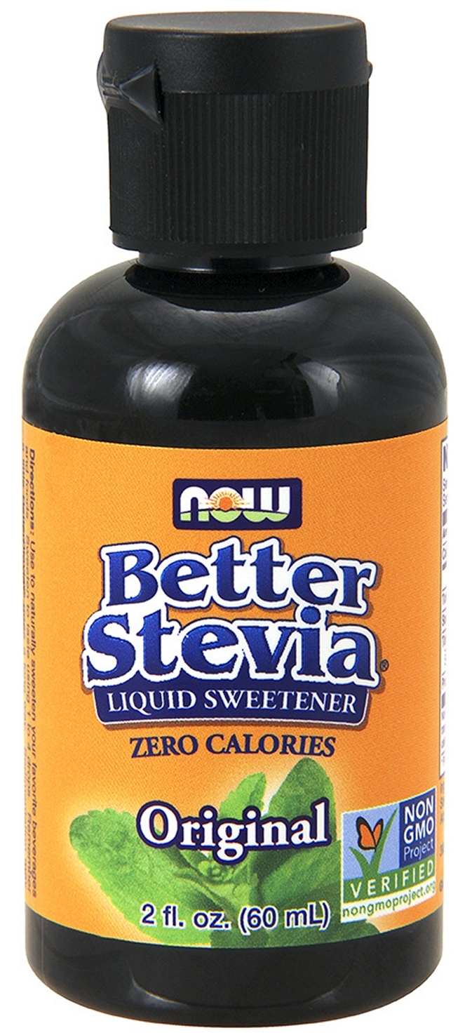 Better Stevia Original Liquid Extract 2 fl oz (60 ml) by NOW