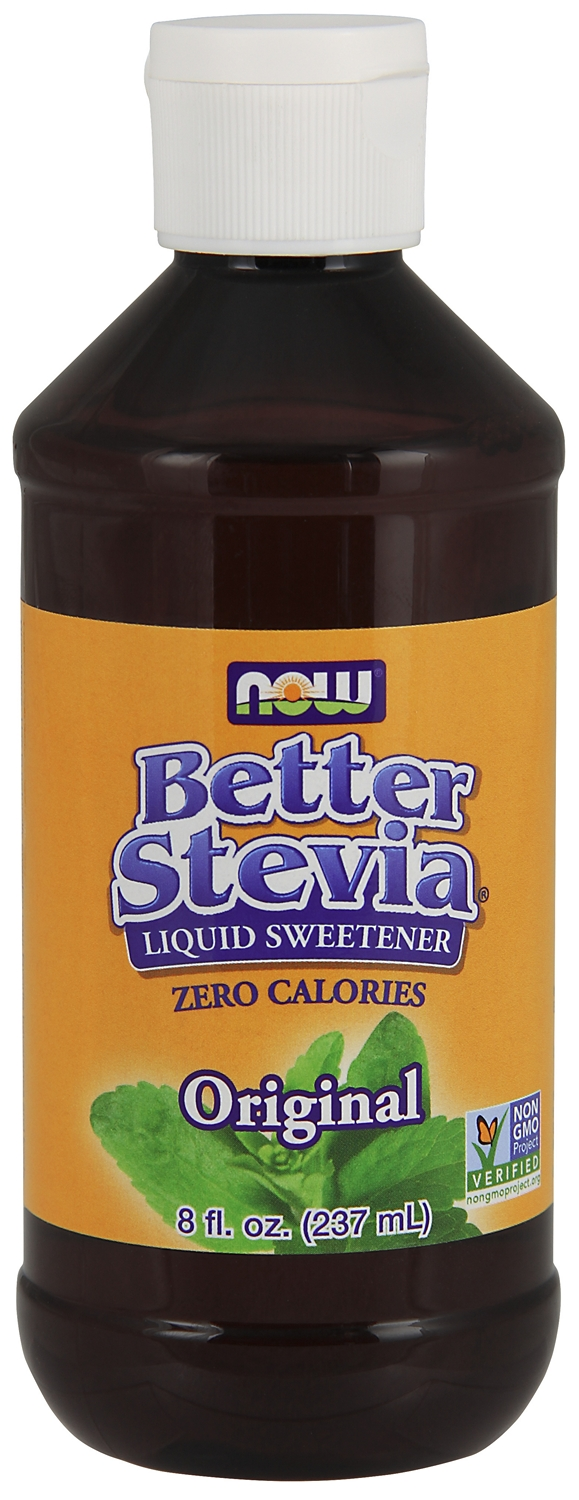 Better Stevia Original Liquid Extract 8 fl oz (237 ml) by NOW