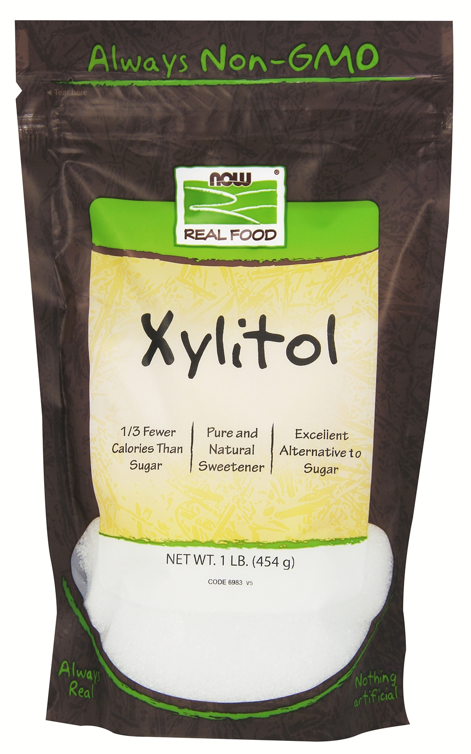 Xylitol 1 lb (454 g) by NOW