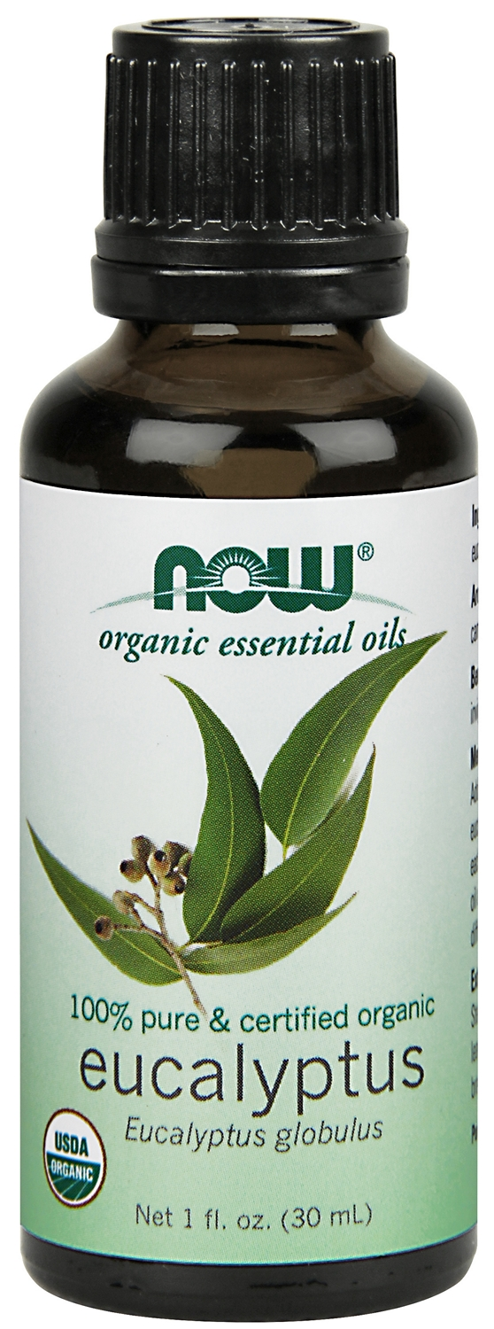 Eucalyptus Oil Certified Organic 1 fl oz (30 ml) by NOW