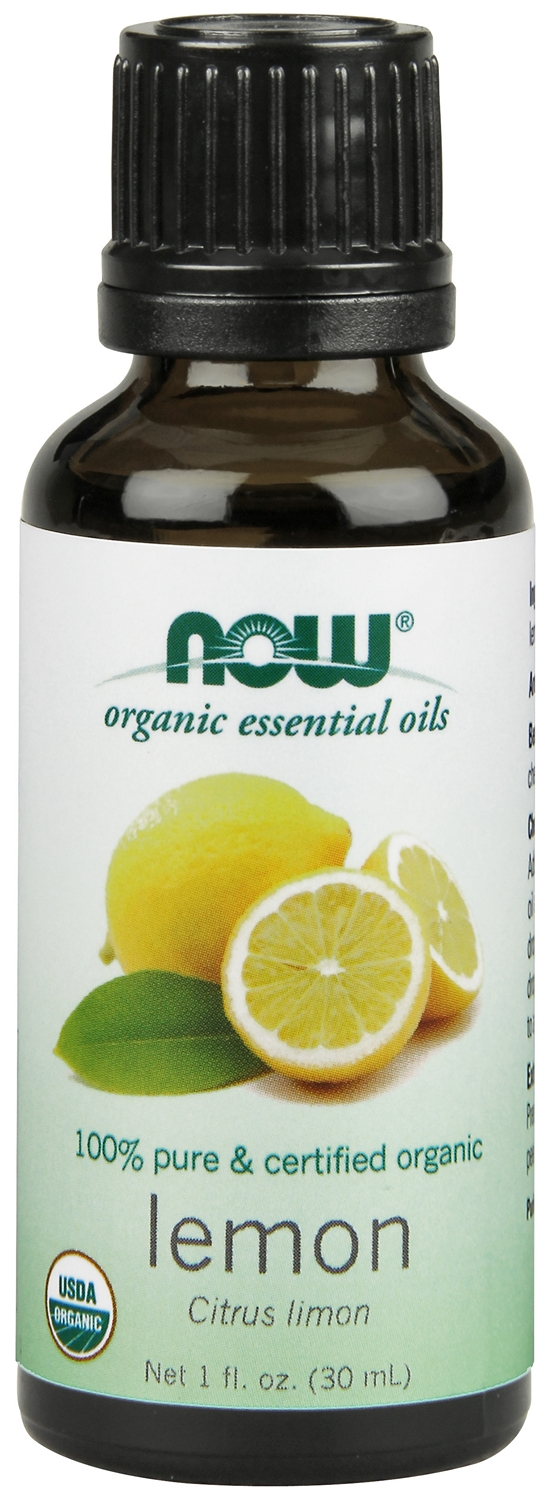 Lemon Oil Certified Organic 1 fl oz (30 ml) by NOW