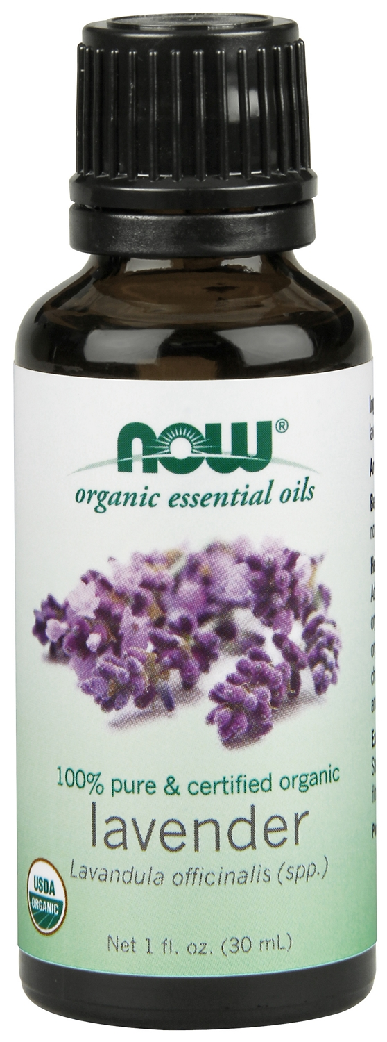 Lavender Oil Certified Organic 1 fl oz (30 ml) by NOW
