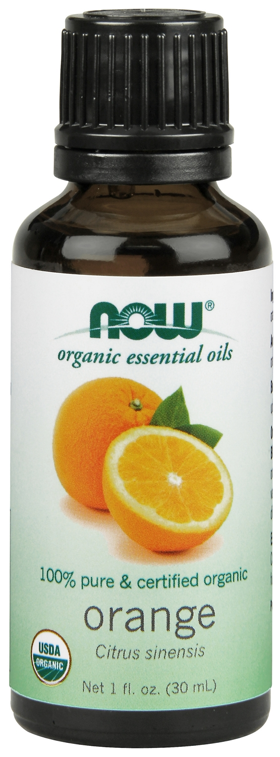Orange Oil Certified Organic 1 fl oz (30 ml) by NOW