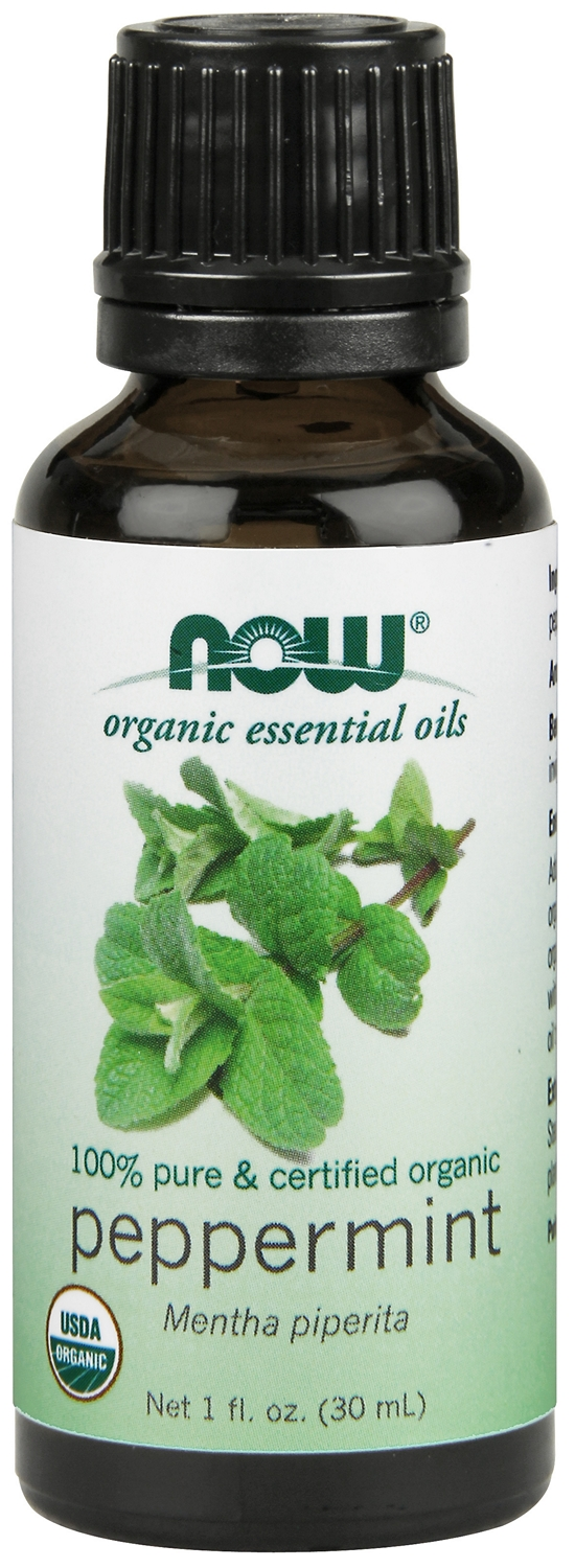 Peppermint Oil Certified Organic 1 fl oz (30 ml) by NOW