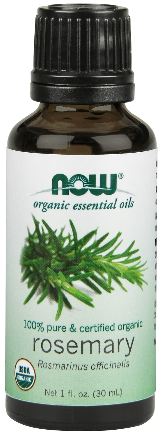 Rosemary Oil Certified Organic 1 fl oz (30 ml) by NOW